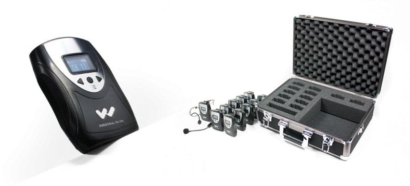 Portable Listening Systems - Translation Equipment Rental