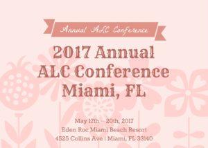 2017 annual alc conference schedule