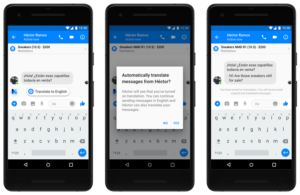 facebook messenger translation