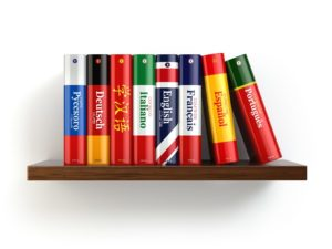 books in different languages