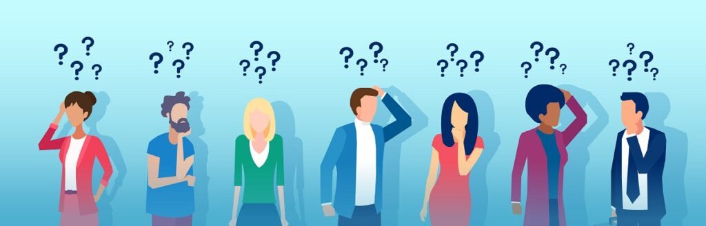 men and women thinking - 3 Situations That Benefit From RSI Services