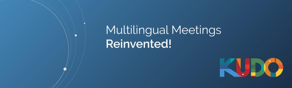KUDO - Multilingual Meetings