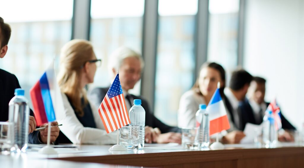 international meeting - conference translation services